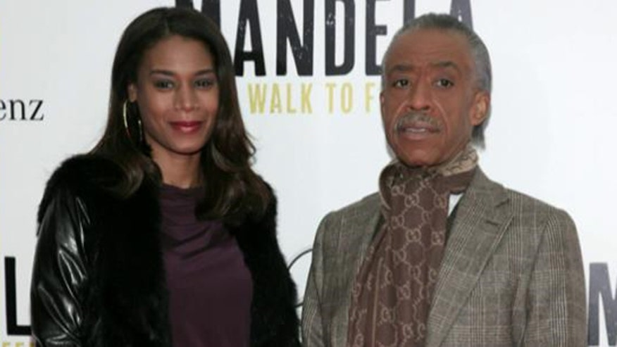 Dominique Sharpton sues New York City after falling and spraining her ankle