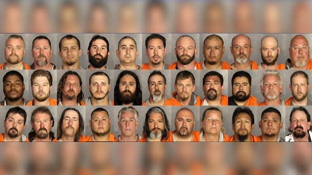 Organized crime charges filed against 170 motorcycle gang members after Texas shootout