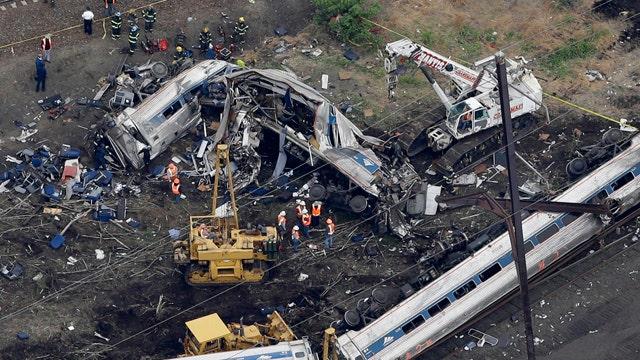 Pundits politicize Amtrak crash