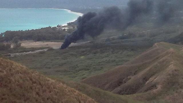 Chopper crash in Hawaii kills one US Marine, injures 23