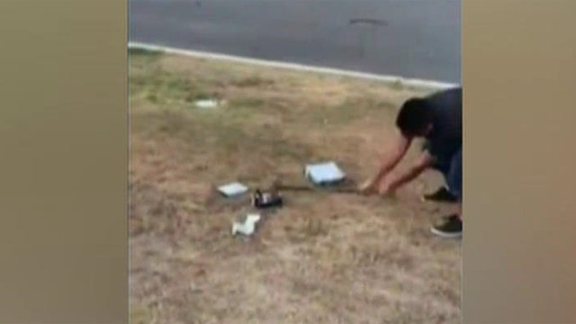 Father tells son to smash Xbox after poor grades in school