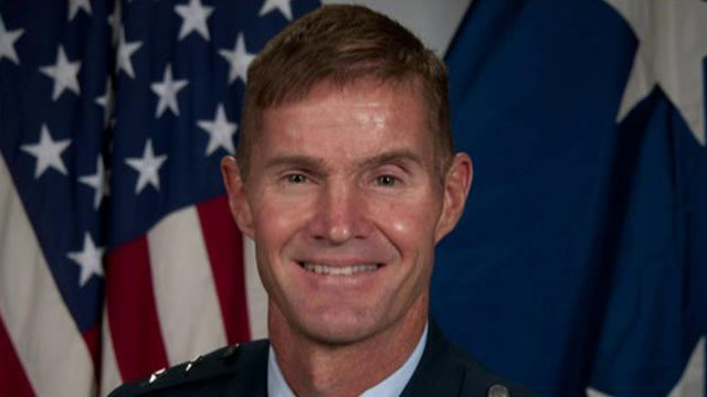 Court-martial Air Force general who spoke of God's guidance?
