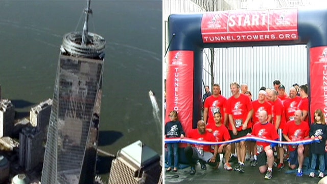 World Trade Center stair climb raises money for wounded vets