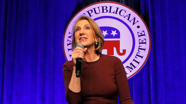 Carly Fiorina impresses crowd at Lincoln Day dinner in Iowa