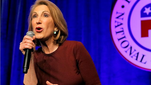 Carly Fiorina makes a solid first impression in Iowa