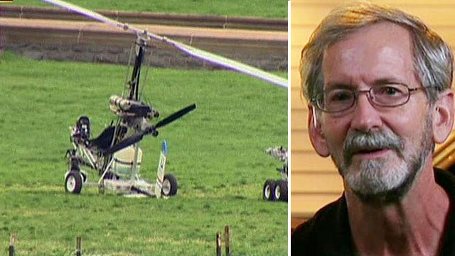 Exclusive: Gyrocopter pilot on flying onto Capitol Hill