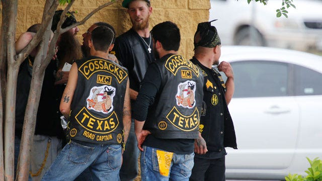 Motorcycle gang violence in Texas