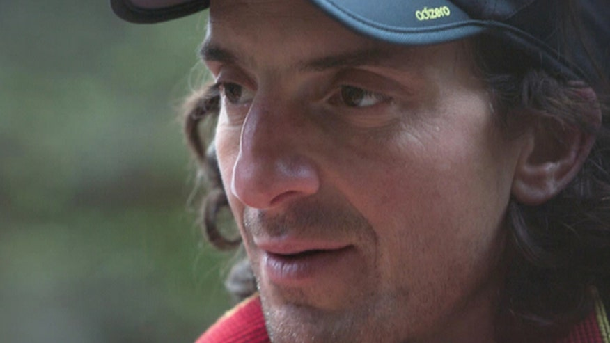 Yosemite National Park spokesman says 43-year-old Dean Potter died in unlawful jump