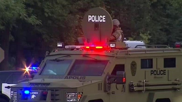 Obama limiting transfer of military tech to police
