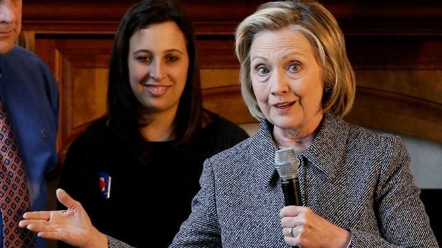 Hillary Clinton continues to avoid questions from the media