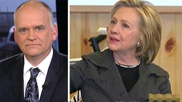 Fournier on Clinton news conference