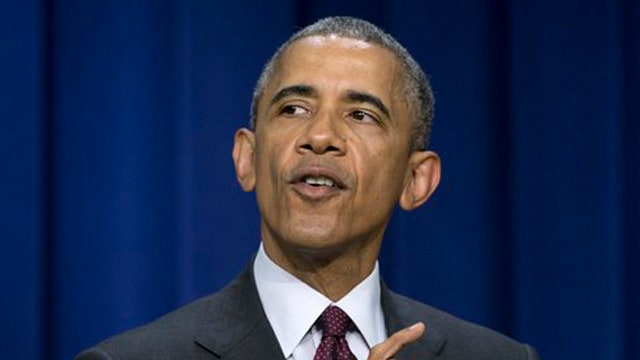Obama: Global warming is a national security threat