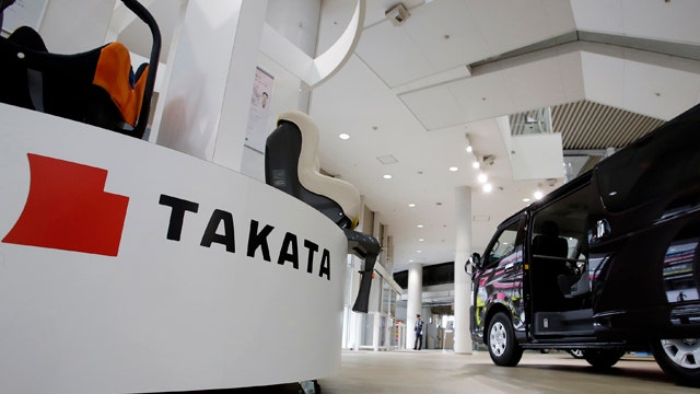34 million cars recalled over Takata airbags