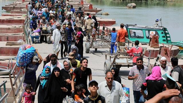 40,000 Iraqis displaced since ISIS took control of Ramadi