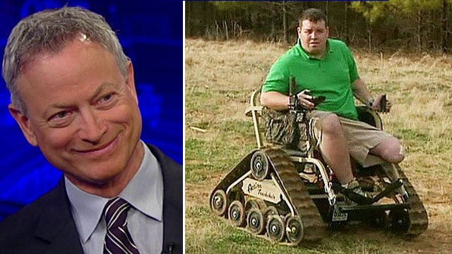 Gary Sinise helping wounded veterans