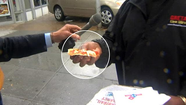 Pizza and the break in the DC mansion murder case