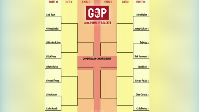 March Madness-style bracket proposed for crowded GOP field