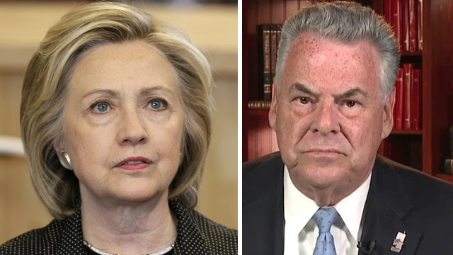 Rep. King: Clinton's emails raise 'very serious issues'