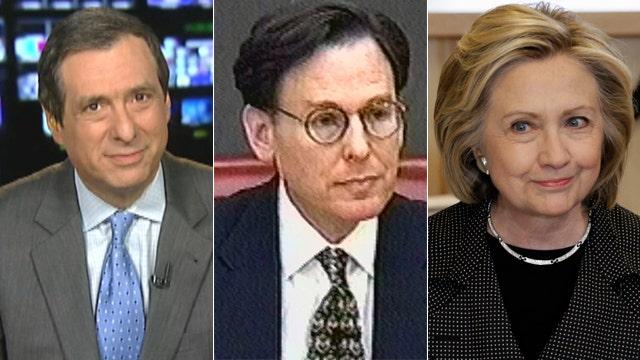 Kurtz: Hillary Clinton's most controversial loyalist