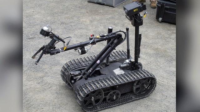 Marines developing new robots to take out the enemy