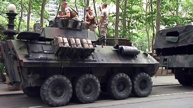 Military vehicles critical for getting the mission done