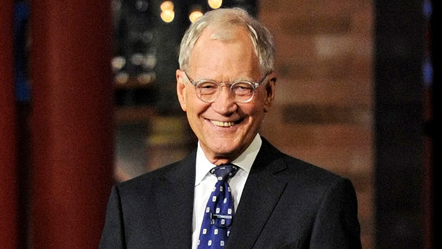 Stars bid David Letterman farewell