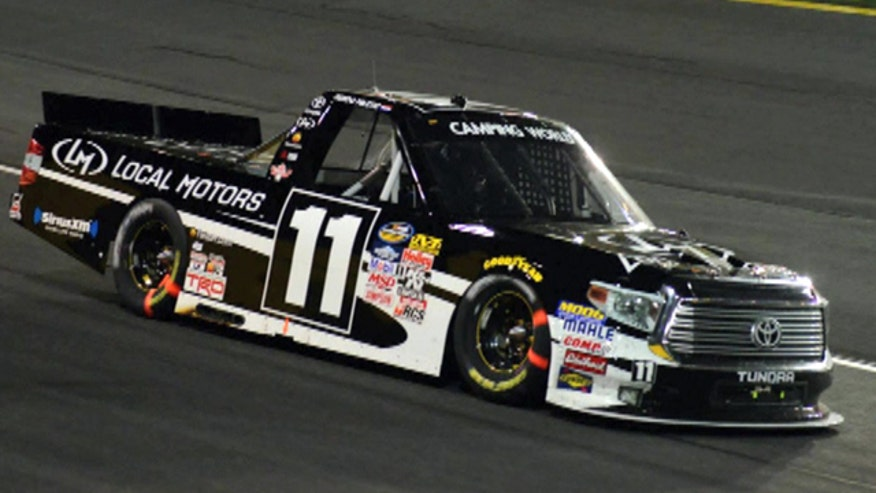 2014 NASCAR Camping World Truck Series rookie of the year Ben Kennedy teams up with Local Motors to crowdsource ideas to improve the sport.