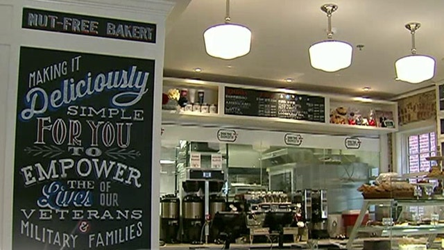 Bakery helps veterans transition to civilian life