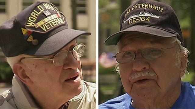 Veterans locked out of memorial honoring World War II heroes