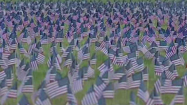 Touching tribute to nation's fallen heroes