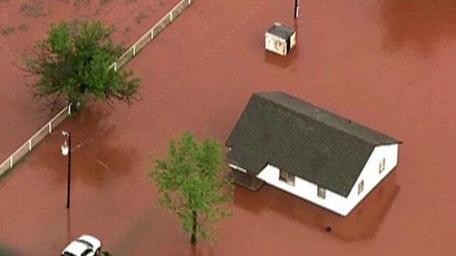 Flooding in Texas and Oklahoma, evacuations underway