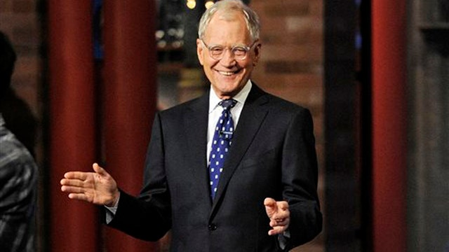 Hyping Letterman's farewell