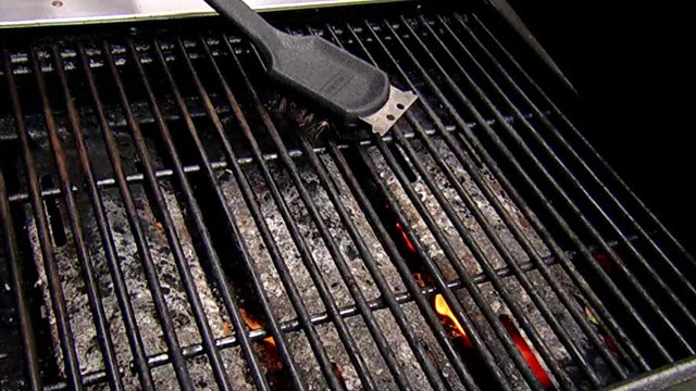 How to clean your grill after a Memorial Day workout