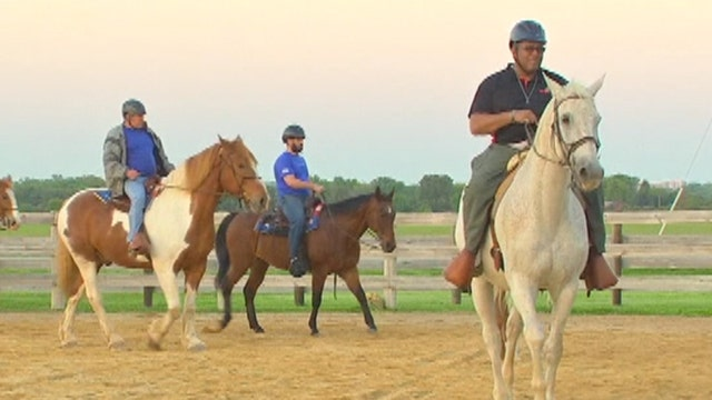 Horses help veterans overcome obstacles