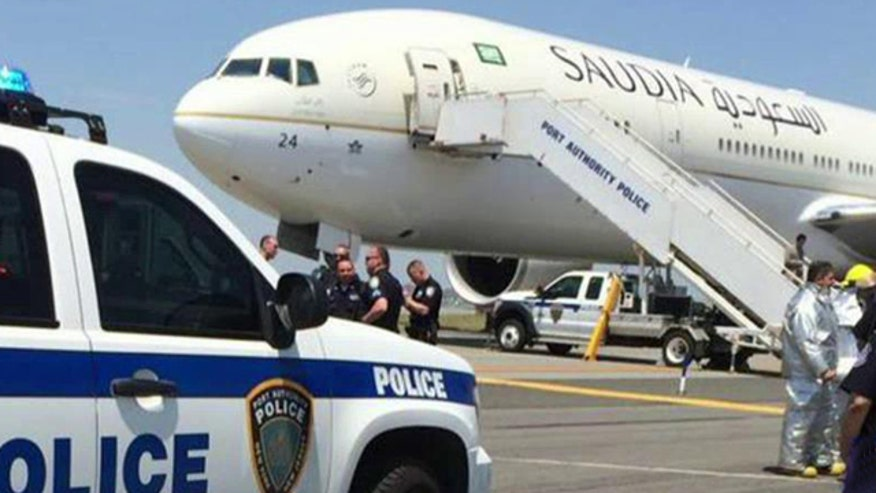 Security scares at New York-area airports