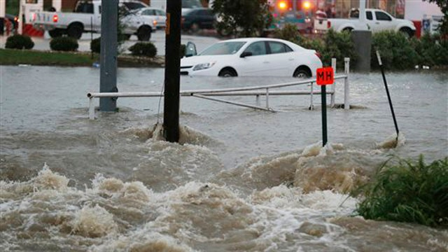 Tornadoes and flash floods devastate Texas