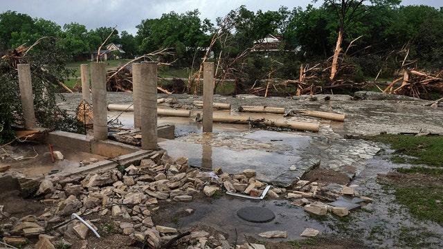 'Devastating' storm leaves at least 4 dead in Texas