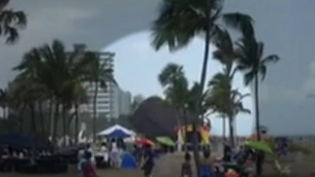 Wind launches bounce house into the air; three kids hurt