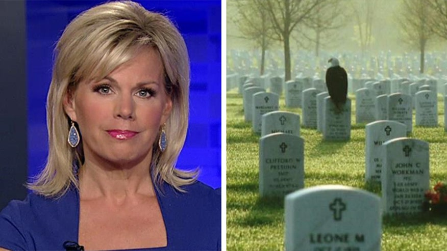 Image of eagle perched soldier's grave goes viral