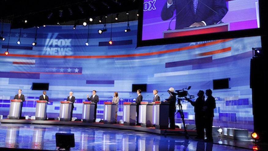 Candidates vie for debate cutoff