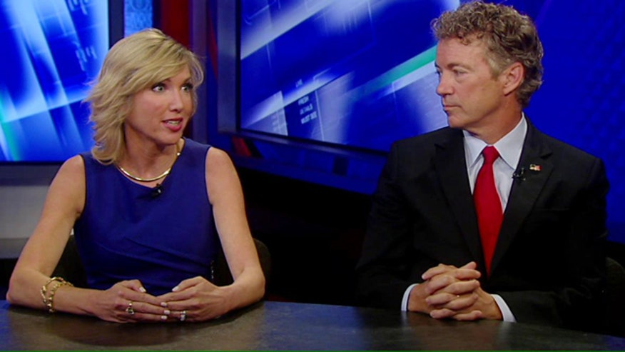 Republican presidential candidate and his wife discuss the bid for the White House on 'The Kelly File'