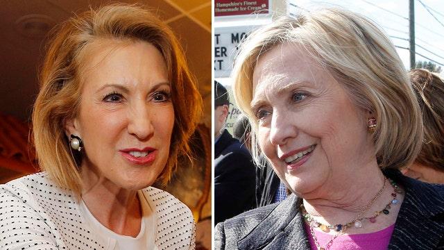 Carly Fiorina shadows Hillary Clinton in South Carolina