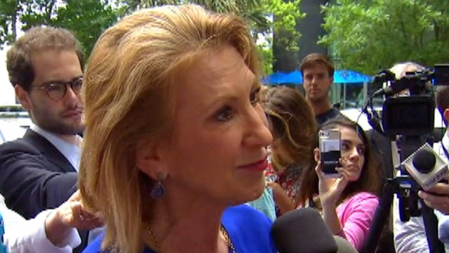 Fiorina: GOP nominee needs to ask tough questions of Clinton