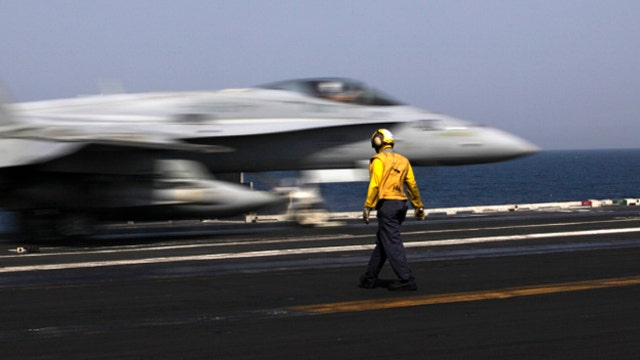 Military pilots frustrated with process for ordering strikes