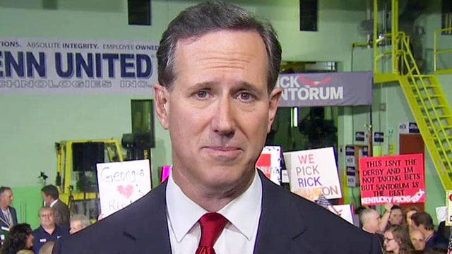 Exclusive: Rick Santorum on why he's running for president