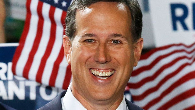 Rick Santorum: 'I offer a bold vision for America'
