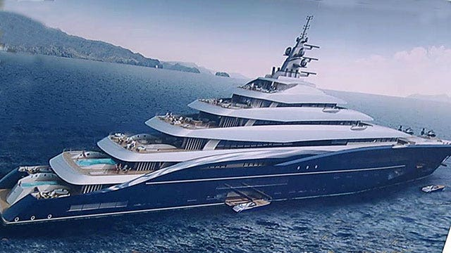 'World's largest private yacht' yours for only $770 million