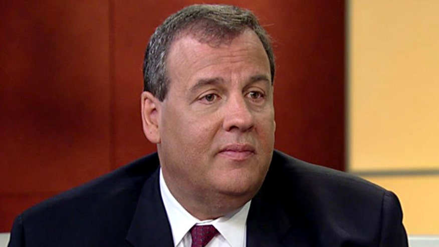 New Jersey governor on a potential race for the White House