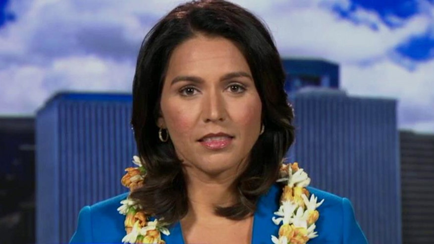 Hawaii congresswoman Tulsi Gabbard takes shot at president's strategy against ISIS and insistence that the US-led coalition is not losing