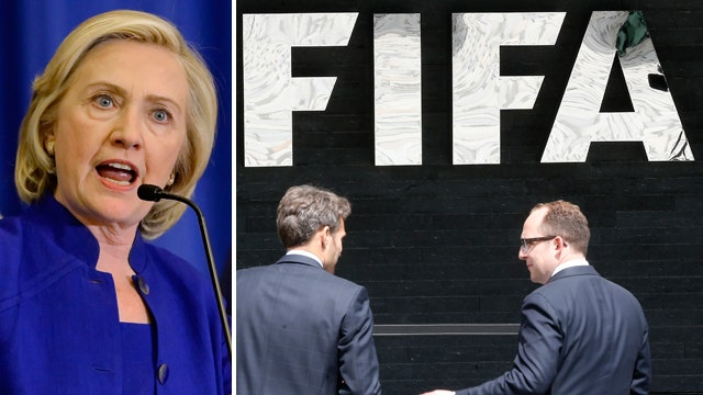 Report: FIFA donated to Clinton Foundation